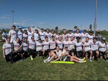 Molly Brown Ultimate Frisbee Team in National Semi Finals on ESPN...