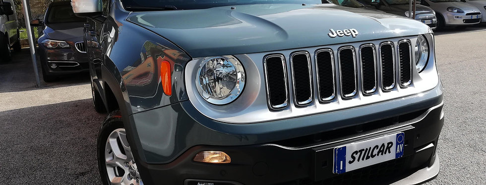 Jeep Renegade 2.0 Mjt 4WD AT9 Active Drive Low Limited