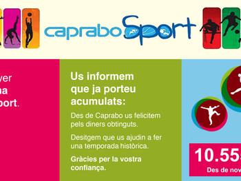 Seguim sumant amb CapraboSport