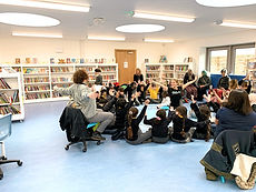 Children Dance Class in Public Library