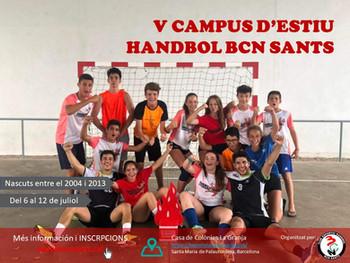 Campus d'Handbol Estiu 2020