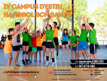 Campus d'Handbol Estiu 2019