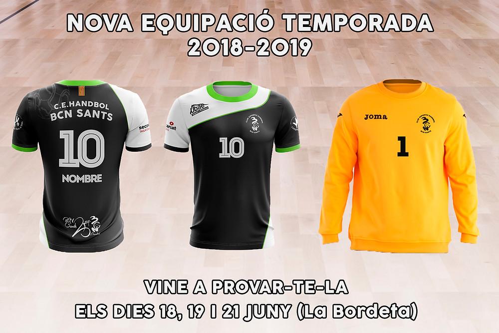 nova equipació 2018-2019