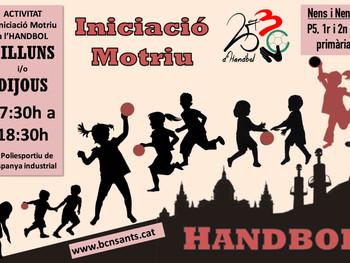 Nou grup d'Iniciació Motriu a l'Handbol