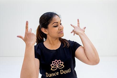 Dance Dosti Teacher in dance pose