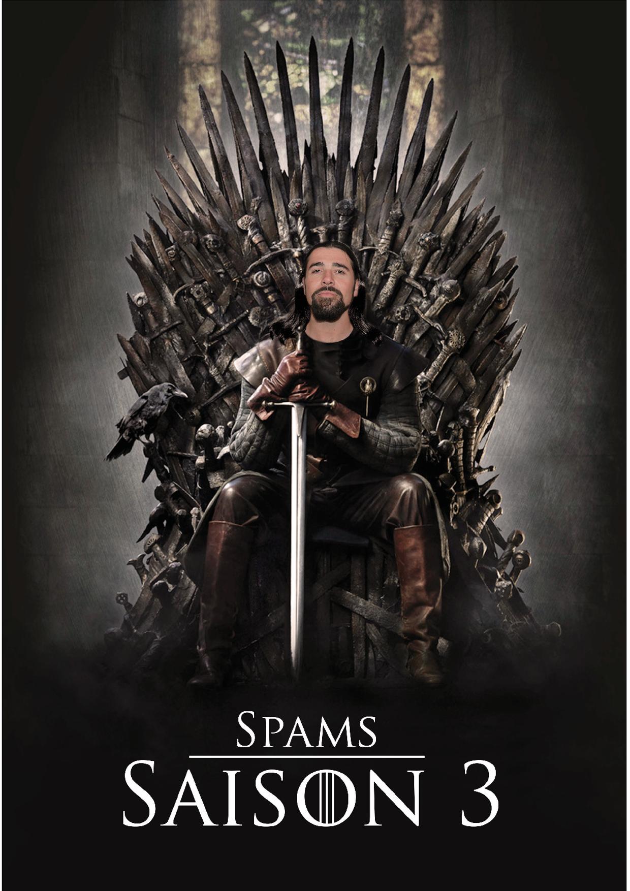Spams Loïc Game of Thrones