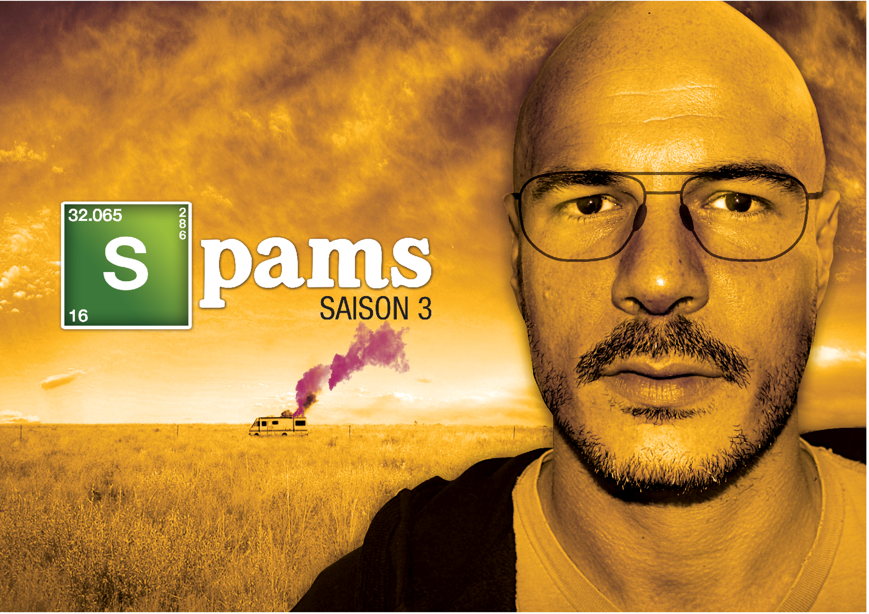 Spams Kris Breaking Bad