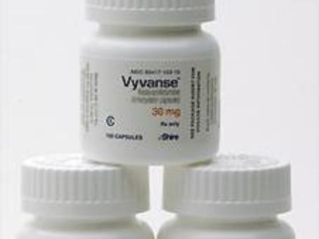 Tratamento com Venvanse