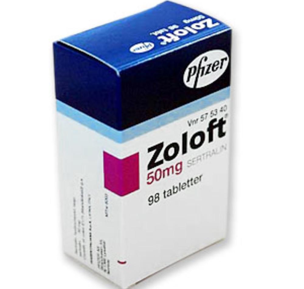 Tratamento e efeitos colaterais de Sertralina, Zoloft