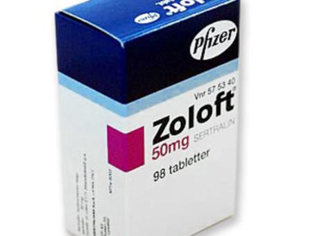 Tratamento com Sertralina, Zoloft, Tolrest, Assert, Serenata, Dieloft