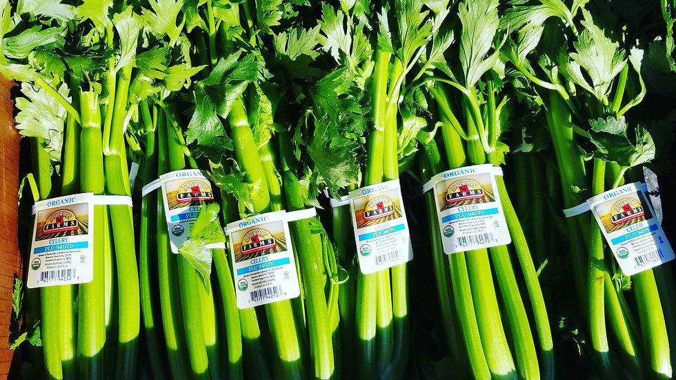 Organic Celery 10lb