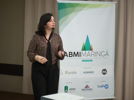 Fernanda Ogeda Palestra na ABMI em Maringá