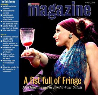Cover of The Suburban Magazine