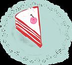 Rebanada de pastel