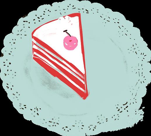 Plátek dortu