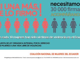 Proyecto de Ley Integral por el derecho de las Mujeres a una vida libre de violencias