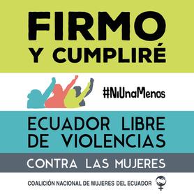 Campaña: #TeLoFirmoYCumplire