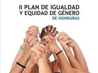 II Plan de Igualdad y Equidad de Género de Honduras