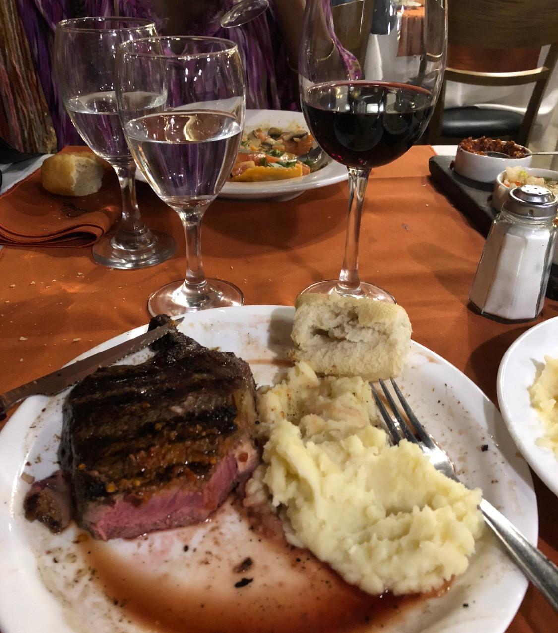 Caroline's plate ft Malbec