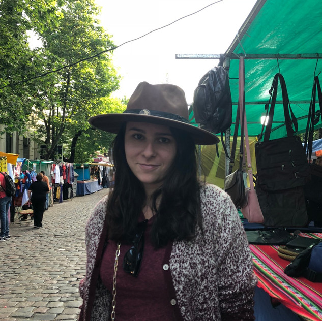 Caroline and her hat, a purchase I am incredibly supportive of #BlackCowgirlWorldwide