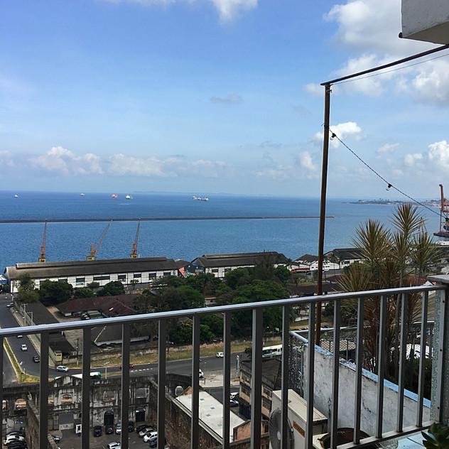 View of Cidade Baixa from SA apt