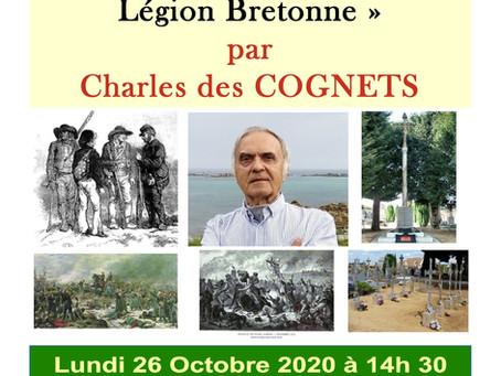 1870-2020, il y a 150 ans, la Légion Bretonne