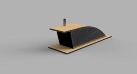 Flytende badstue. Samarbeid med Verket Fab Lab AS