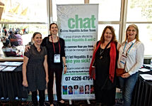 CHAT at a conference