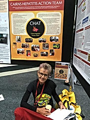CHAT at a conference with poster
