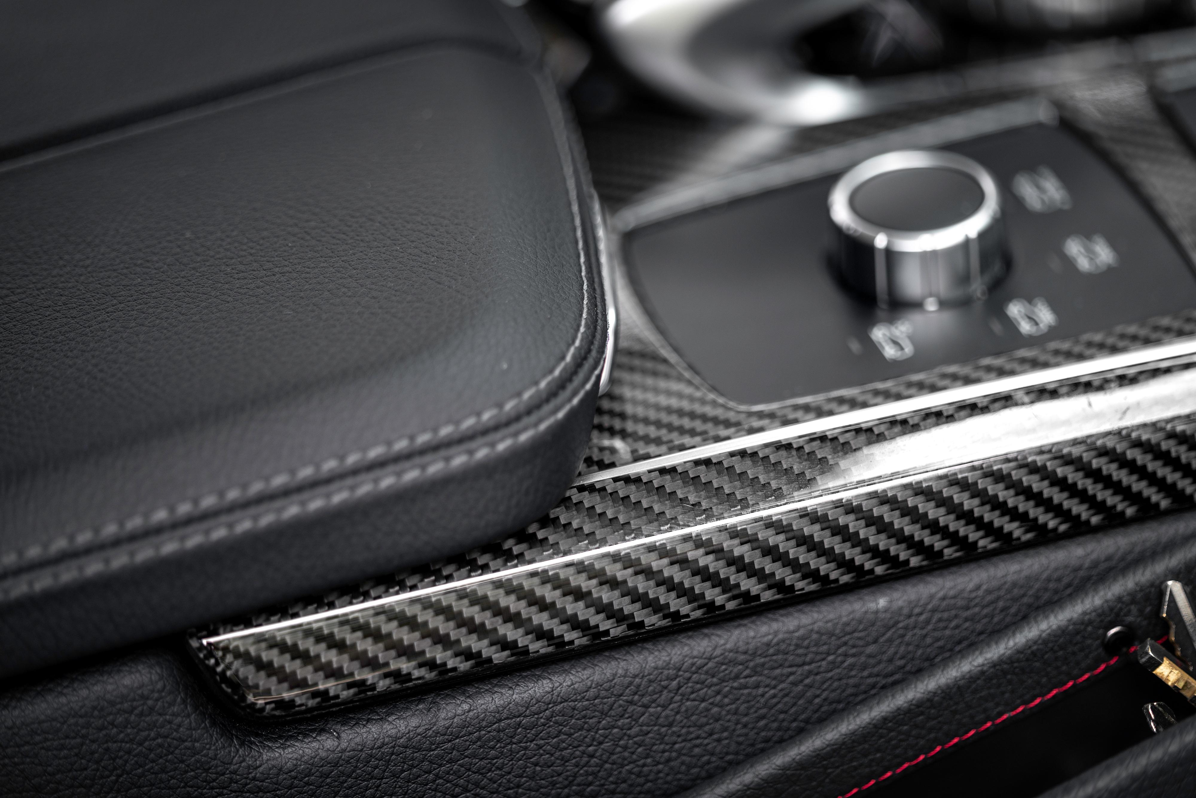 gle 63 amg carbon fiber interior