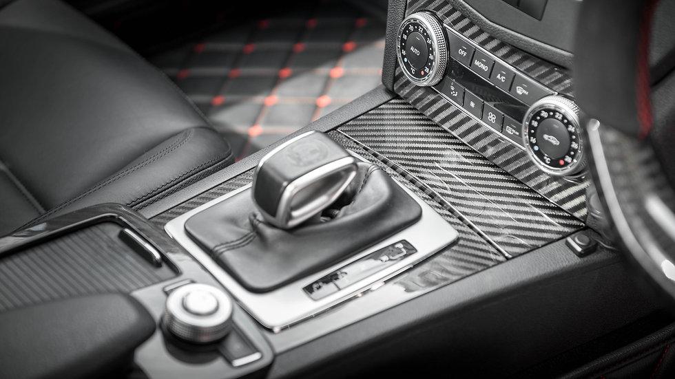 W204 Full Carbon Fiber Interior Trim