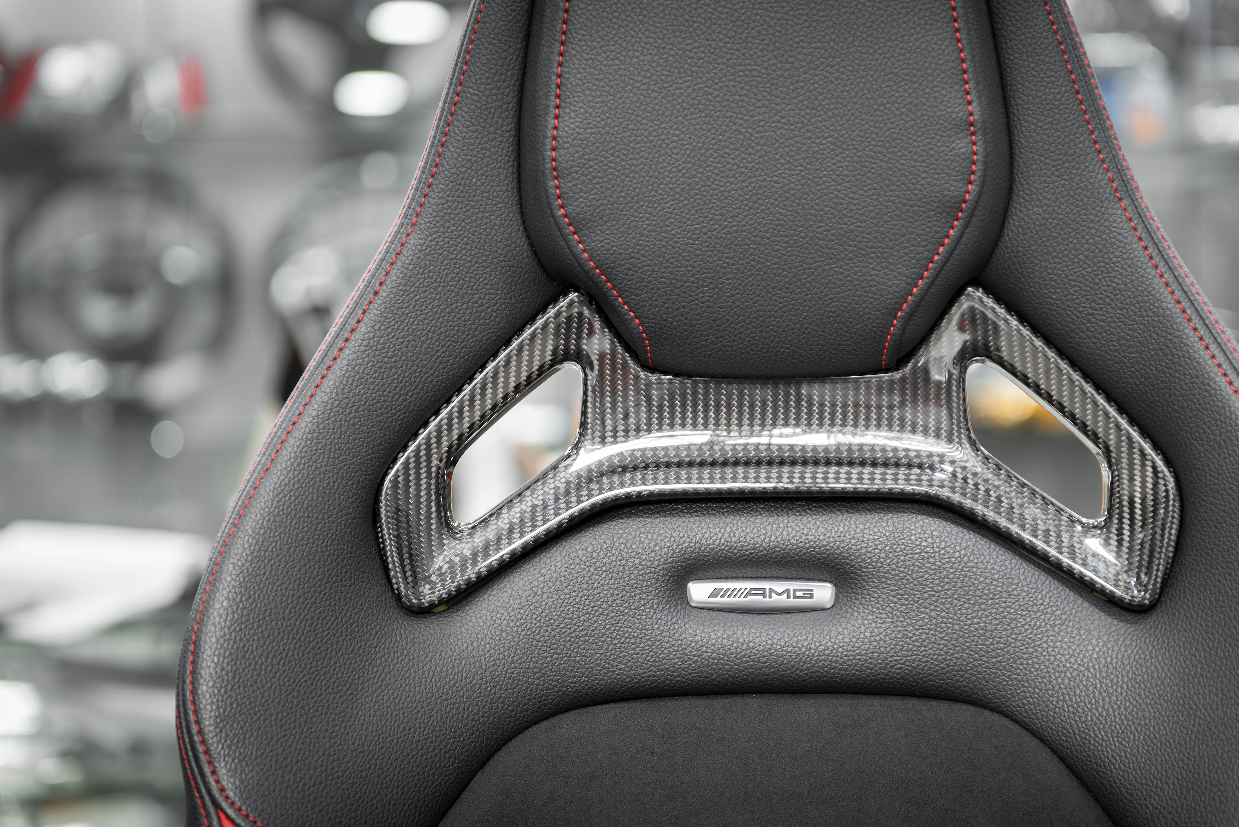 gla 45 amg carbon fiber interior