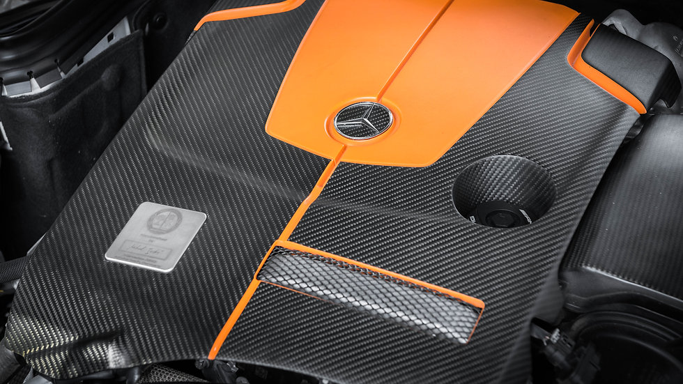 Carbon Fiber Engine Cover
