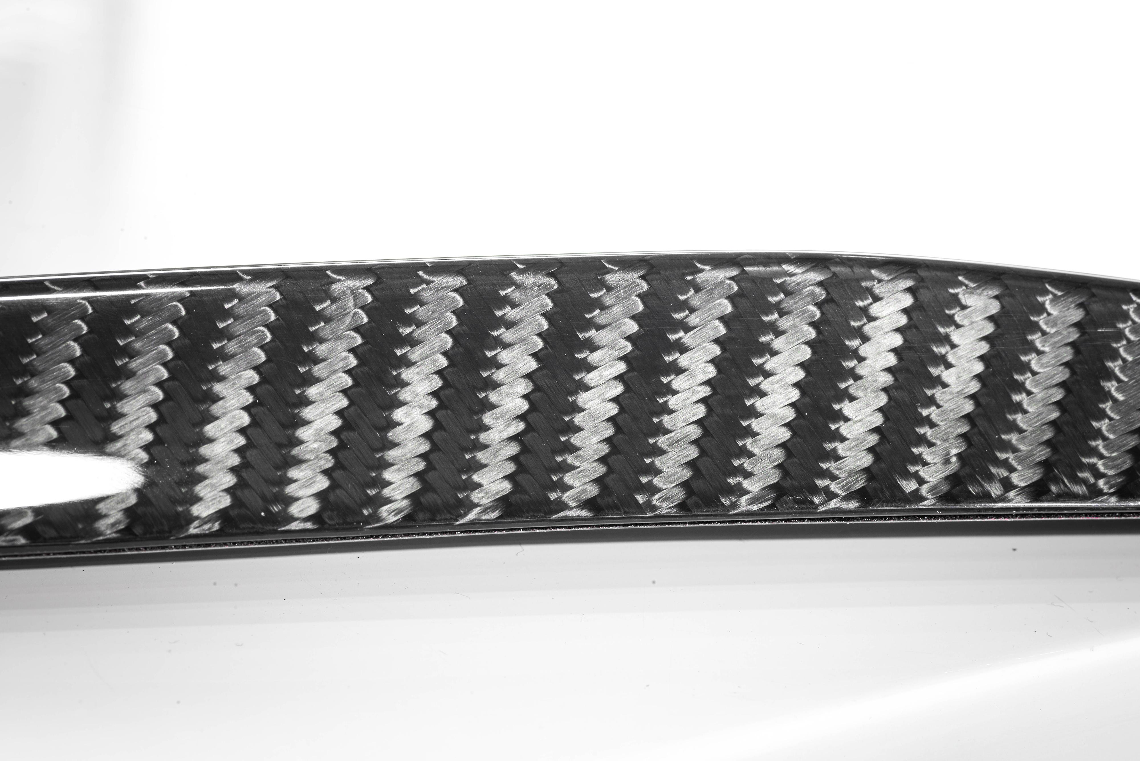 Mercedes carbon fiber rear spoiler