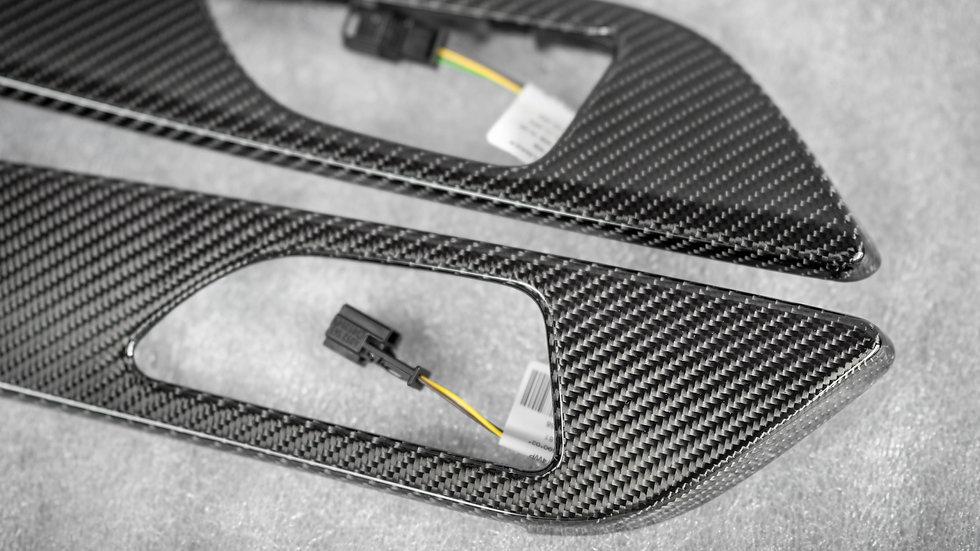 X166, C292 GLE/ GLE Coupe' Full Carbon Fiber Interior Trim