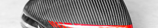 Traditional Weave Carbon Fiber Side Mirror Housing