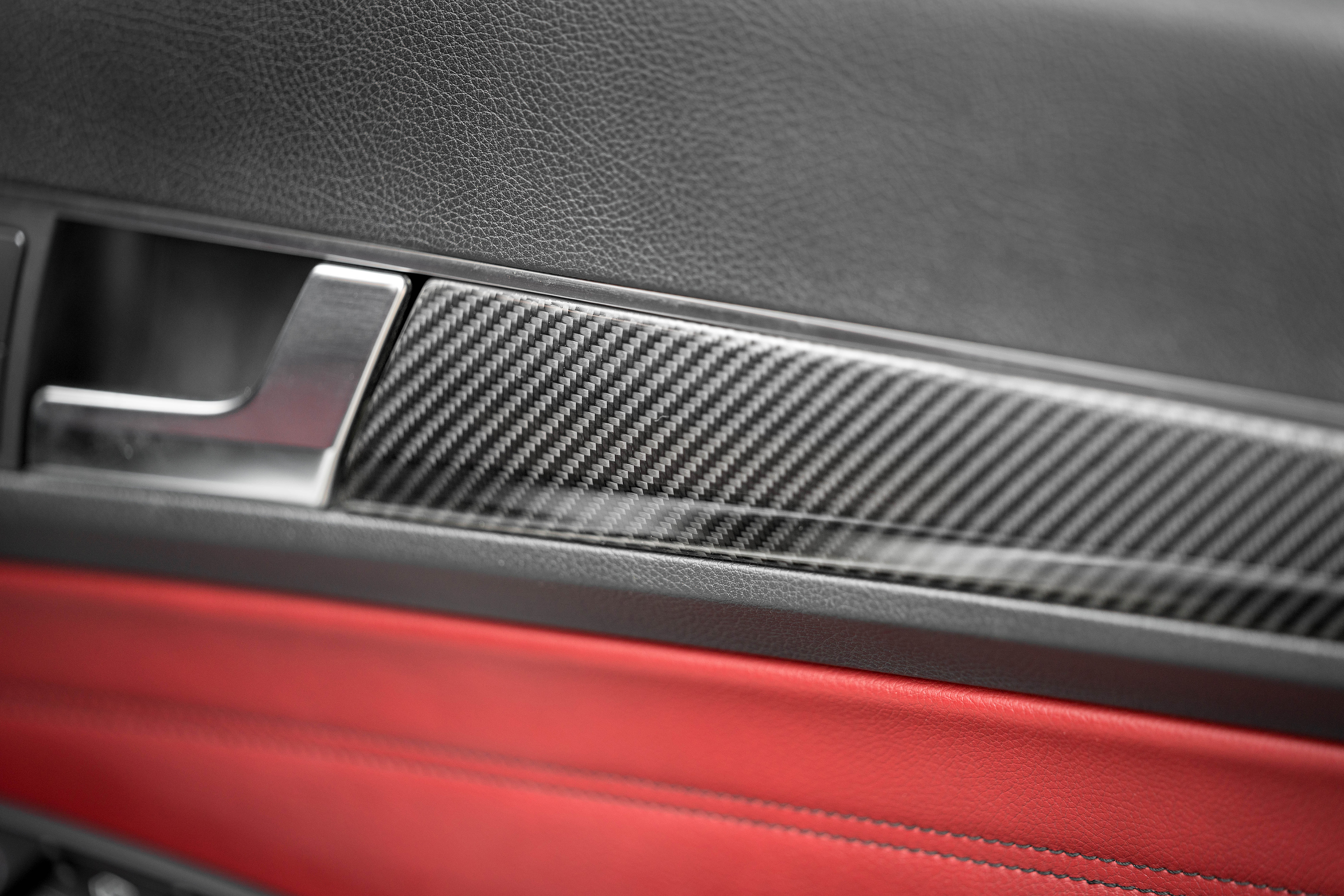 mercedes carbon fiber interior trim