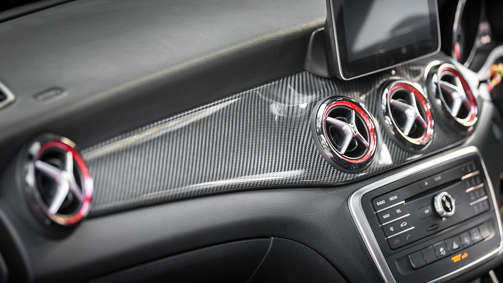 X156 GLA-Class Full Carbon Fiber Interior Trim