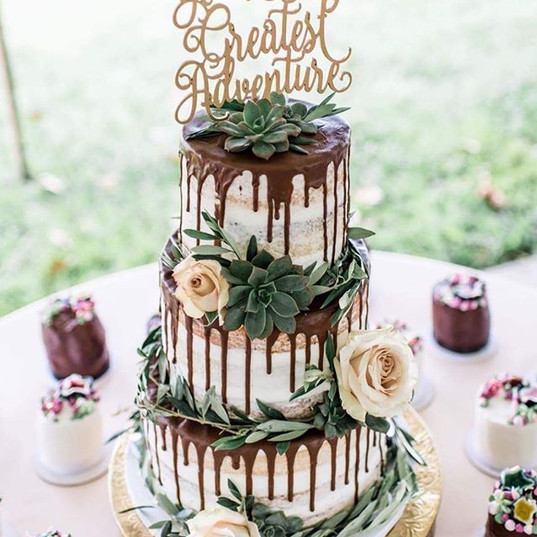 Still one of the most fun bridal cakes t