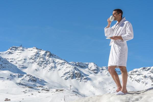 Кофе на снегу