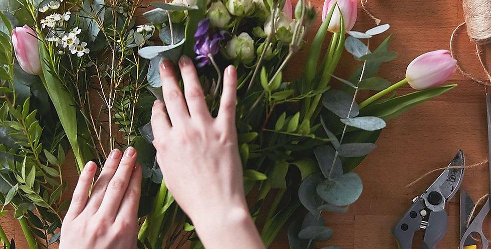 DIY Fresh Flowers   from
