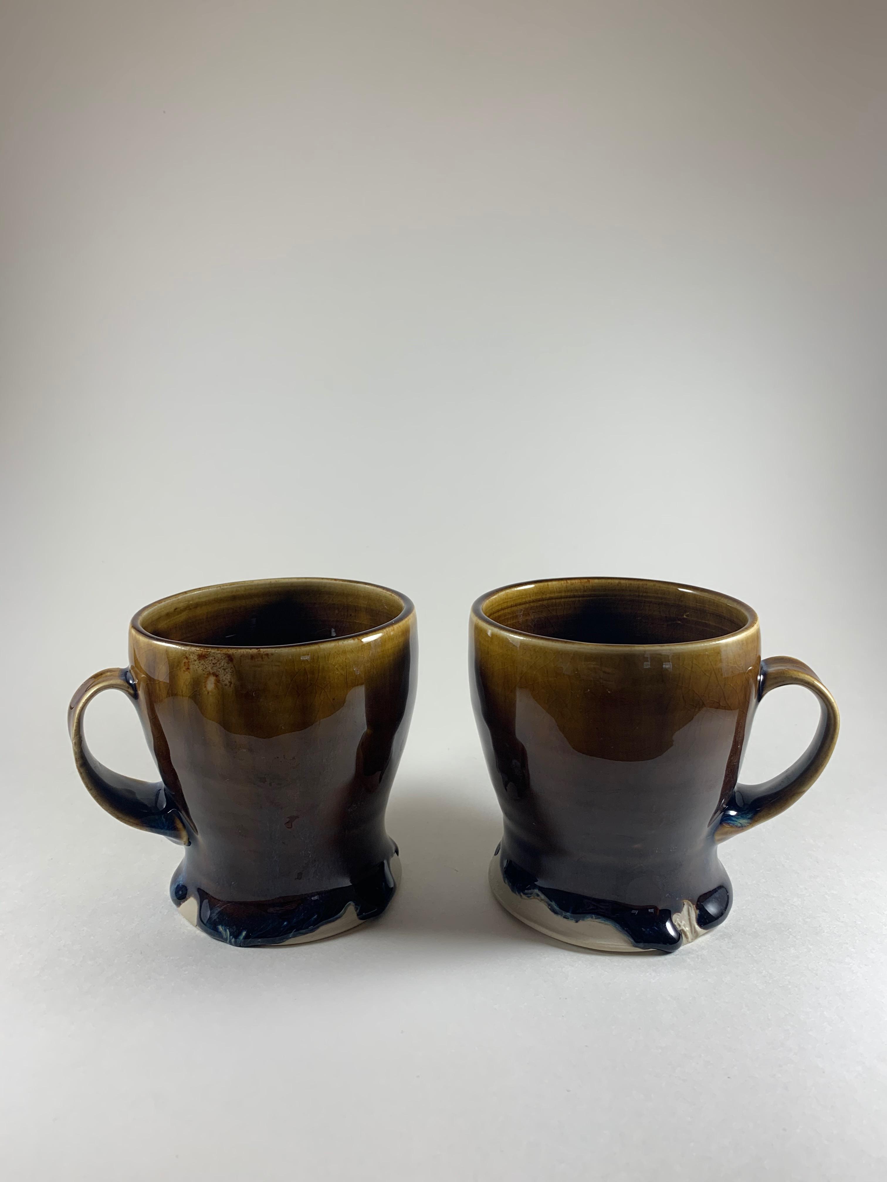 Smooth Brown Mugs