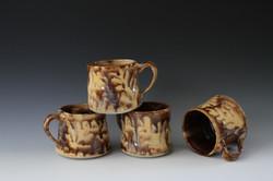 Tilted Drip Mugs