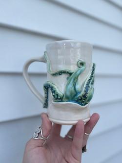 Tentacle takeover mug