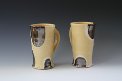 Spotted Yellow Mugs
