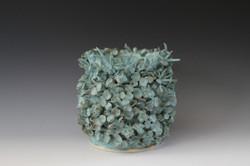 Rusty Blue Vase
