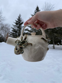 Tentacle takeover teapot