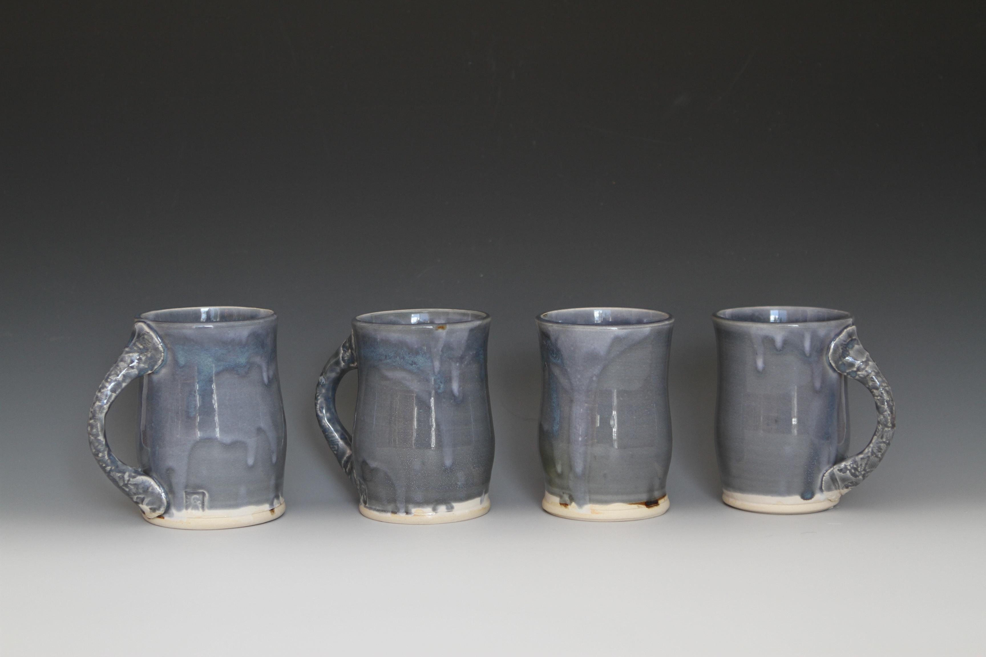 Blue Laced Mug Set