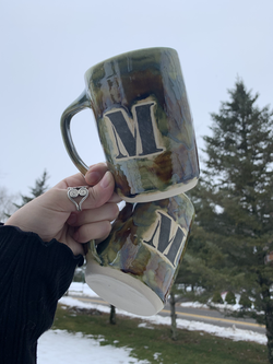 """Custom """"M"""" Mugs"""