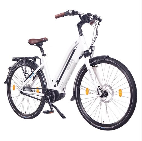 NCM Milano Max Trekking E-Bike, City-Bike, 250W, 36V 16Ah 768Wh Battery [White 2